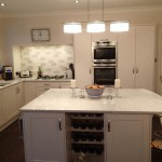 White Custom Kitchen Castleford
